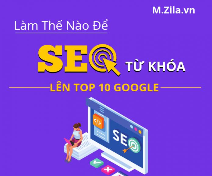 Làm Thế Nào Để SEO Từ Khóa Lên Top Google