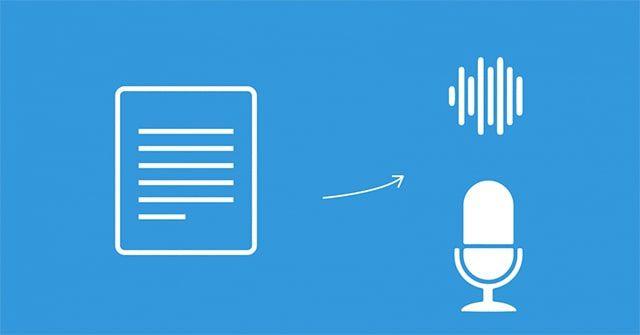 chuyển văn bản thành giọng nói