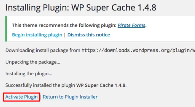 ài đặt trực tiếp từ thư viện Plugin của WordPress